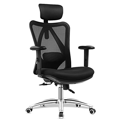 mfavour Ergonomisch Bürostuhl, Schreibtischstuhl Computer Stuhl drehstuhl mit...