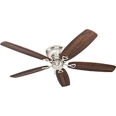 Honeywell Ceiling Fans 50515-01 Glen Alden Ceiling Fan, 52 , Brushed Nickel