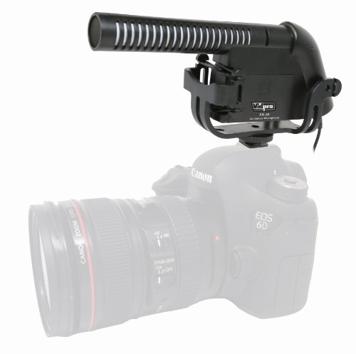 Toshiba CAMILEO X200 Camcorder External Microphone XM-40 Professional Video & Broadcast Condenser Microphone