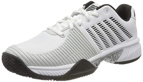Dunlop Herren EXPRESS LIGHT 2 HB Sneaker, White/Black/Barly Blue,42 EU