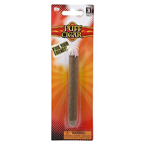 Rhode Island Novelty 4.5 Inch Puff Cigar, One per Order