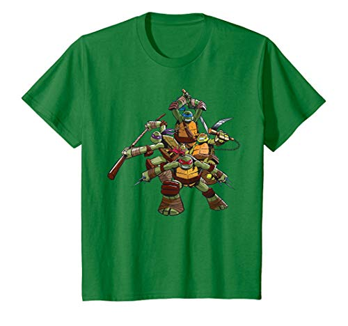 Kinder US Teenage Mutant Ninja Turtles Gang Pose - kid T-Shirt