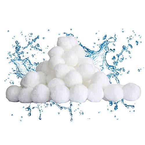 Sfera filtrante per Piscina,700g Filtro Balls,Palline Filtranti per Piscina,Materiale Filtrante Piscina,Attrezzatura per la Pulizia della Piscina,Utilizzate in Piscine, Pompe Filtranti e Acquari
