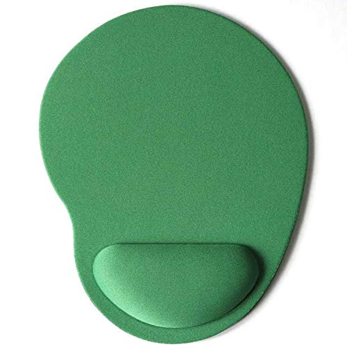 Mouse Pad Gaming Mouse Pad with Wrist Rest Compatible with Computer mackbook Laptop Keyboard Mouse Mat with Hand Rest Mice Pad with Wrist Support Computer Accessories (Color : Green)