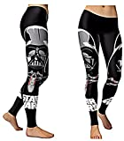 Star Wars Darth Vader Character One Size Fits Most Novelty Leggings