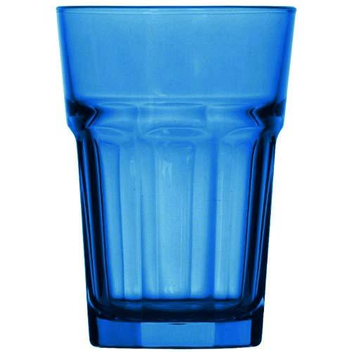 Topkapi Miami Blue 250.657 - Juego de 6 vasos XL (36 cl)...
