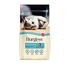 Burgess Kitten Food British Chicken 1.5 kg