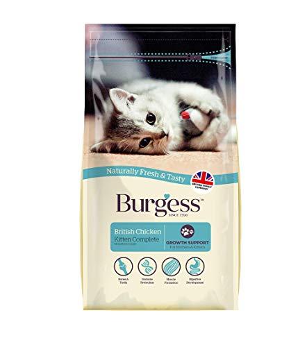 Burgess Dry Kitten Food Chicken, 1.5kg