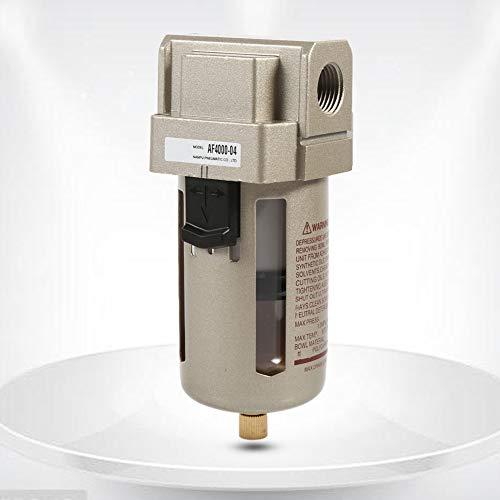 Sren 1 compresor de Filtro de Aire Duradero de 1/2 '', Filtro de compresor de Aire, para 1.0Mpa / 145Ps para 60 ° C / 140 ℉ para 1.0Mpa / 145Ps 4000L / Min Varios entornos de instalación