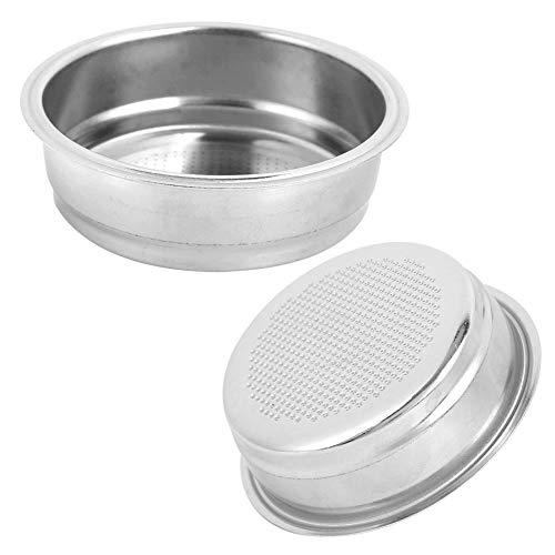Filtr do kawy 51mm, kosz filtra do kawy ze stali nierdzewnej, akcesoria do ekspresu do kawy wielokrotnego użytku z drobnej siatki do domu, biura, kawiarni