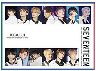 2018 SEVENTEEN CONCERT 'IDEAL CUT' IN JAPAN (2DVD+PHOTO BOOK) 【Loppi・HMV限定盤】