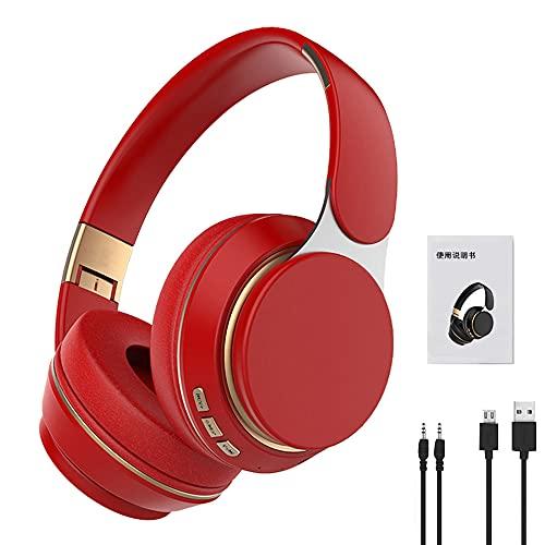 Auriculares inalámbricos Auriculares Bluetooth 5,0 Auriculares estéreo plegables ajustables con micrófono para teléfono Pc TV