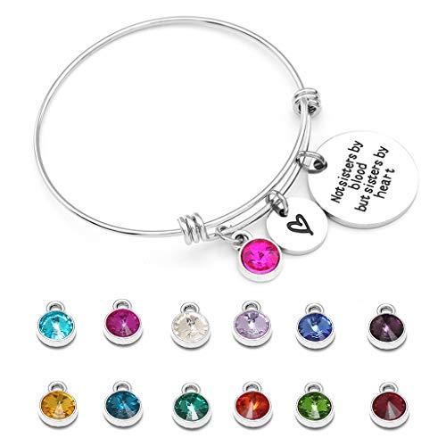Planuuik Mode Vrouwen Verstelbare Armband Spiegel Lettering Met Tag Hanger Leuke Meisjes Studenten DIY Armbanden Sieraden Geschenken