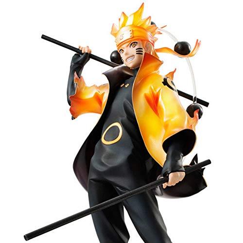 Action Figure Naruto Uzumaki Shippuden (Sennin Mode Version) PVC Figure Statue