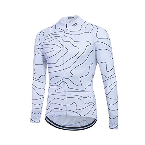 21Grams Men's Women's Long Sleeve Cycling Jersey Winter Plus Size Bike Sweatshirt Jersey Top Mountain Bike
