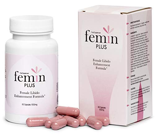 FEMIN Plus - Premium Female Libido Enhancement Formula, 60 Capsules / 830 mg