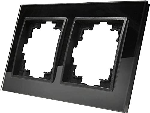 Marco de cristal doble – Serie GLAS antracita