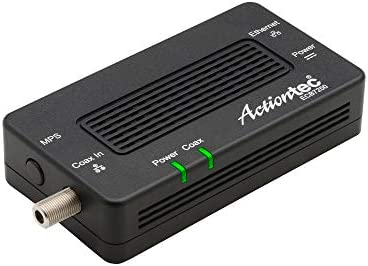 Actiontec Bonded MoCA 2 5 Network Adapter True 2 5 Gbps Ethernet Port for Ethernet Over Coax product image