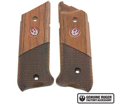 Ruger Mark IV Grips - Hunter Style - Half Chackered - 90609