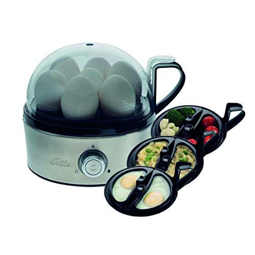 Solis Egg Boiler & More 827 - Huevera eléctrica multifuncional - Cocedor...