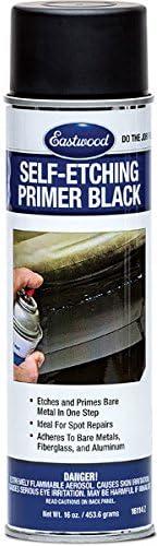 Max 82% OFF Eastwood Self Etching Black Primer Steel Aluminum Overseas parallel import regular item Stainless Chro