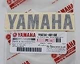Tout Nouveau 100% Original Yamaha Autocollant Emblème Logo 100mm X 23mm Noir Adhésif / Moto Jet Ski / Atv / Motoneige
