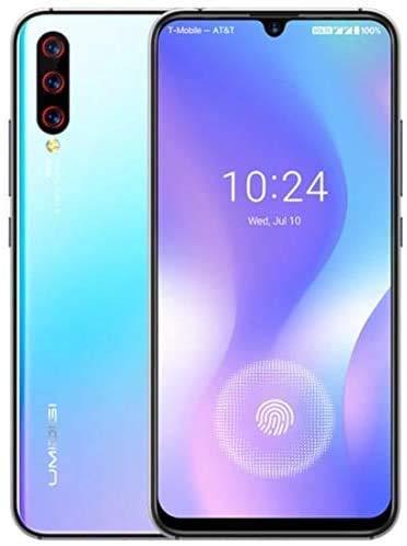 Cellulari Smartphone Offerte, UMIDIGI X Sensore di impronte sotto lo schermo 6.35' AMOLED 48MP Tripla Fotocamera posteriore 128GB NFC Helio P60 4150mAh Global Version –Breathing Crystal