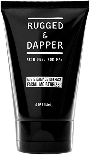 RUGGED & DAPPER Age Defense Face Moisturizer for Men, 4 Oz