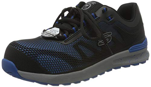 Skechers BULKLIN LYNDALE, Zapato Industrial Hombre, Azul, 40 EU
