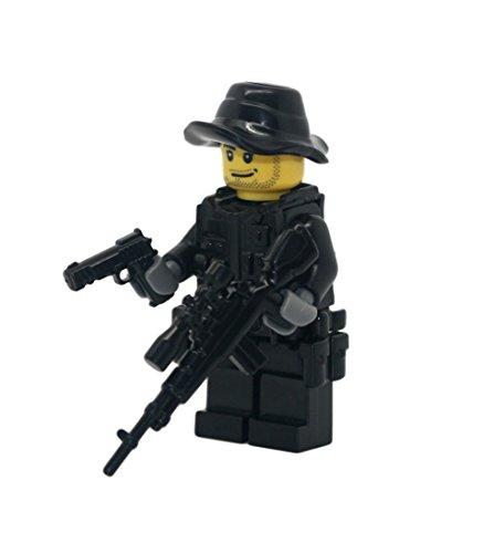 Special Forces Sniper - Modern Brick Warfare Custom Minifigure