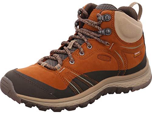 KEEN Women's Terradora Mid Wp-w Hiking Boot Shoe, Timber/Cornstalk,...