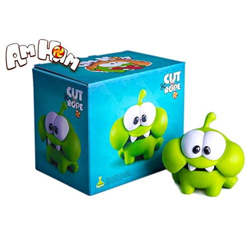 Om Nom Bashkotryas Cut The Rope Toy 3 95 Inch Plastic Open Mouth Cut The Rope Toys Nommies Om Nom Plastic Toy Cut The Rope Mini Figure Om Nom Toys Buy Online In Aruba At