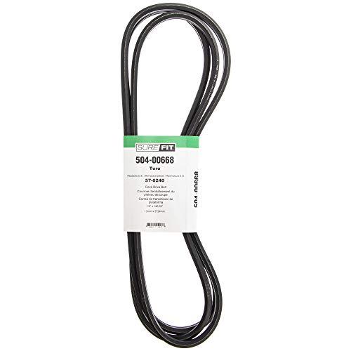 "SureFit Deck Drive Belt Replacement for Toro 57-0240 44"" 48"" 52"" 62"" 72"" Groundsmaster 200 ProLine 118 Z Master Mowers"