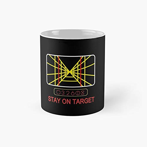 Stay On Target - 70s Arcade Style Classic Mug | Best Gift Funny Coffee Mugs 11 Oz