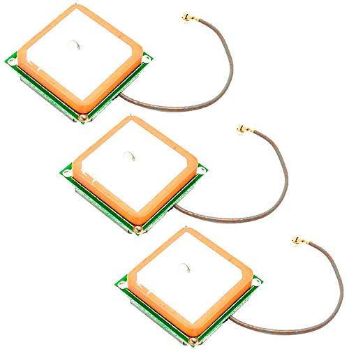 AZDelivery 3 x Antena GPS para el modulo GPS para Arduino con Ebook Incluido