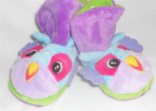 Puppet Slipper Pals - Color: Ice Cube - Size: 10-11 Youth