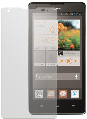 dipos I 2X Schutzfolie matt kompatibel mit Huawei Ascend G700 Folie Displayschutzfolie