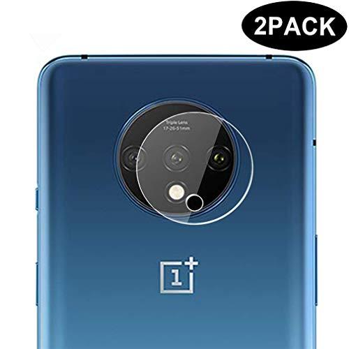 Dotuo (2Stücke Panzerglas Schutzfolie für OnePlus 7T, 9H Härte Anti-Kratzen [2.5D Folie] [Bubble Free][Full Scratch Protection] Kameraobjektive Schutzfolie für OnePlus 7T
