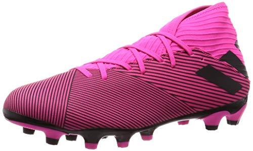 Adidas Nemeziz 19.3 MG, Botas de fútbol Unisex Adulto, Multicolor (Shock Pink/Core Black/Shock Pink 000), 42 EU