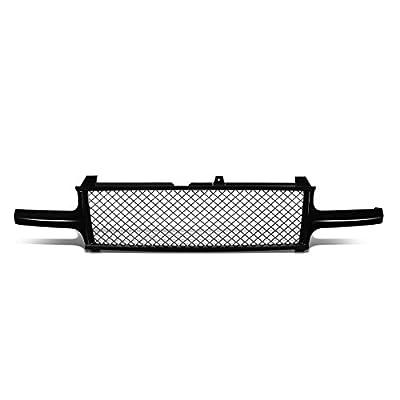 DNA Motoring GRF-001-T1-BK Badge-Less Diamond Mesh Front Bumper Grille For Silverado Tahoe Suburban,Black