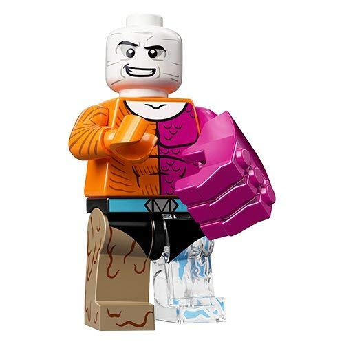 Unbekannt Lego® 71026 Minifigures Minifiguren DC Super Heroes Figur Metamorpho + Sticker-und-co Bonbon