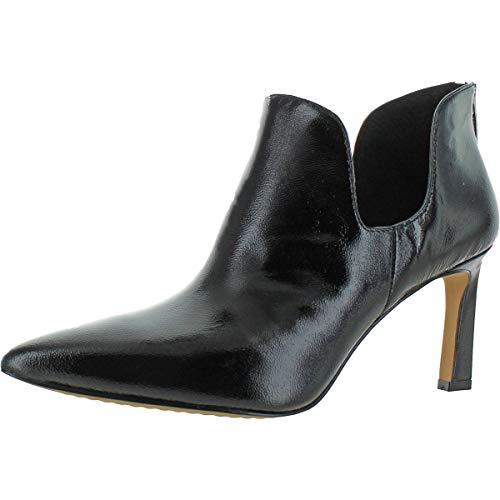 Vince Camuto Womens Randin Bootie Zipper Pointed Toe Heels Black 5 Medium (B,M)