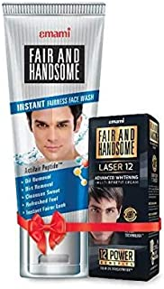 Fair and Handsome Instant Fairness Face Wash, 100g