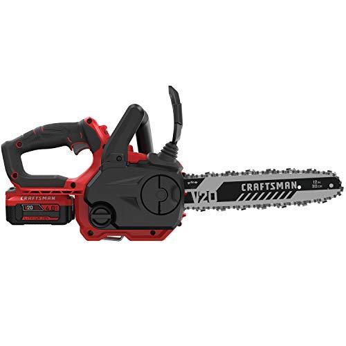 CRAFTSMAN V20 Cordless Chainsaw, 12-Inch (CMCCS620M1)