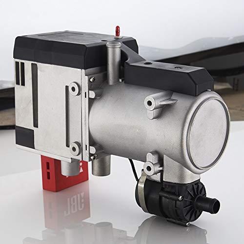Prueba y medición Diesel calentador líquido 12KW Aparcamiento Calentador de Agua 12V Gasolina Calefactor for el coche Caranvan Barco del calentador de agua