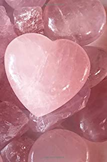 Rose Quartz Crystal Journal 6 x 9 Lined Pages