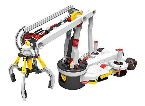 エレキット ロボット工作キット メカクリッパー ジョイスティックで操作するロボットアーム MR-9113