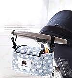 Bambino Passeggino Organizzatore, Carrozzino Carrozzina Organizzatore Carrello Stoccaggio Borsa per Passeggino Infantile Viaggio Impermeabile Universale Portatile Borsetta Grande Capacita Moda.