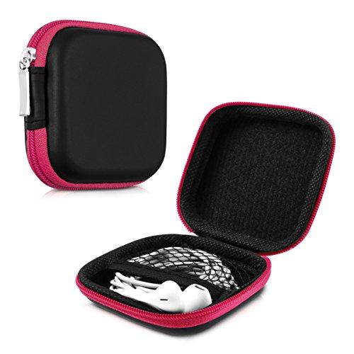 kwmobile Funda Protectora rígida Compatible con Auriculares In-Ear -...