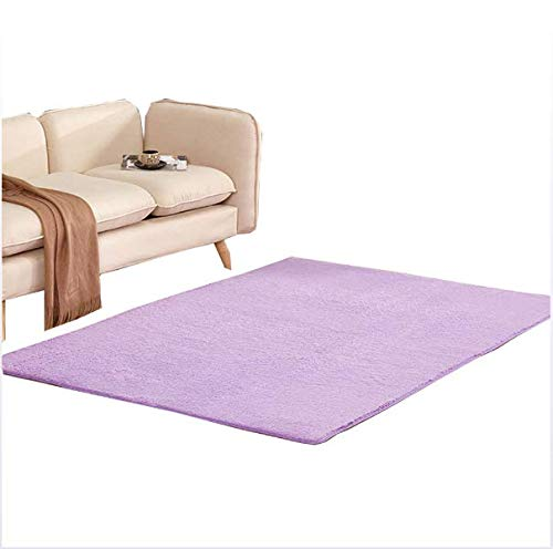 DXLPD Teppich Teppich Einfarbig Rutschfest Saugfähig Schlafzimmer Yoga Teppich Kurzhaarig Wohnzimmer Teppich Schlafzimmer Badezimmer Leicht Zu Reinigen,Style 9,80 * 160cm